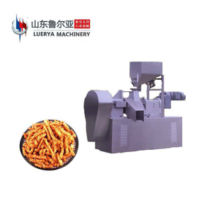 Certificate CE ISO Kurkure Cheetos Corn Curl Extruder Machine In Snack Food
