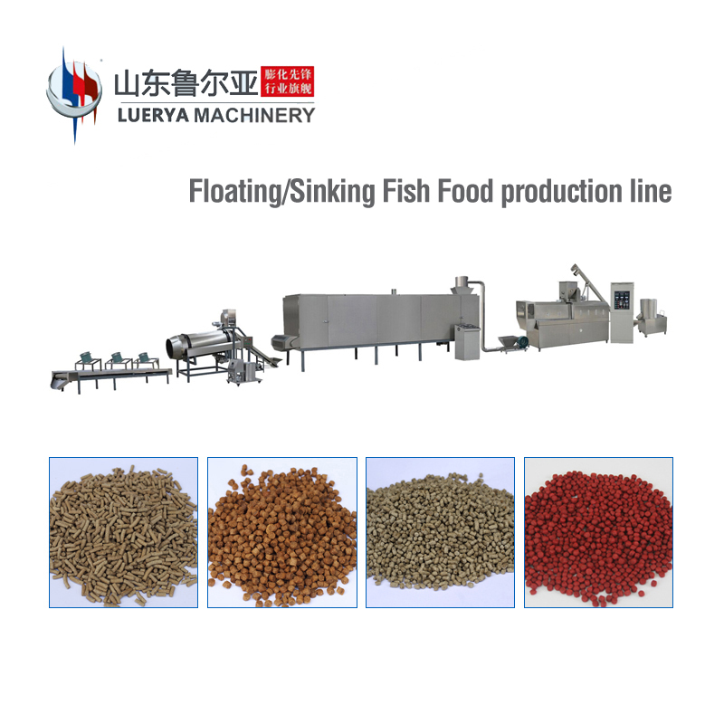 Fish Feed/Food Extruder/Making Machine/Equipment