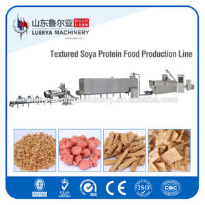 Certificate CE ISO soya protein processing machine in snack food