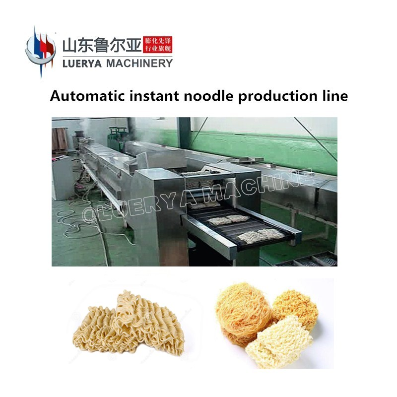 Chinese Manufacturer Full Automatic fried Instant Noodle Machine