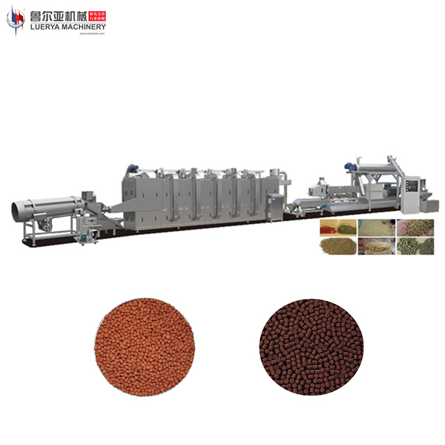 China Jinan leading technology fish feed pellet extruder machine